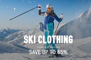 Ski Clothing - Save up to 65%