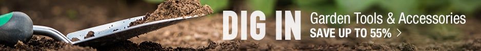 Dig in. Shop Garden Tools & Accessories - save up to 55%