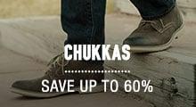 Chukkas - save up to 60%