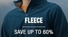 Fleece Jackets, Vests ∓ Shirts - save up to 60%