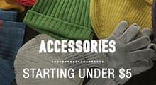 Accessories - starting under $5