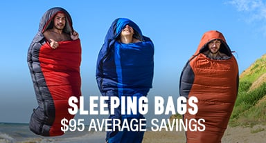 Sleeping Bags - $95 average savings