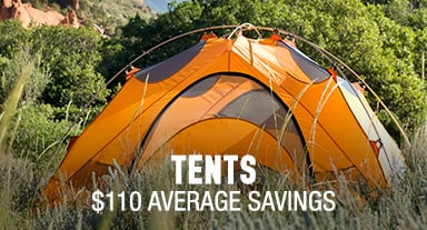 Tents - $110 average savings