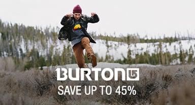 Burton - save up to 45%