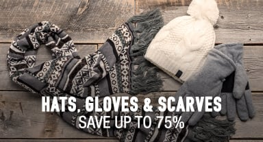 Hats and Gloves - save up to 75%