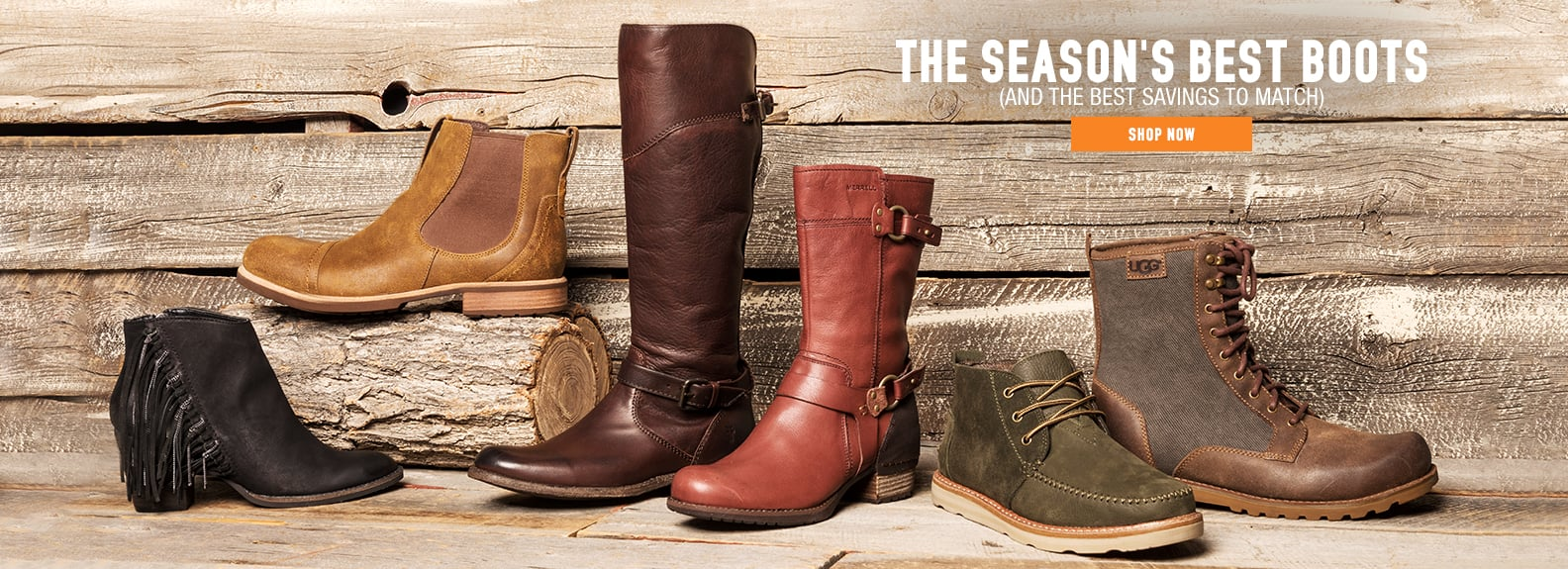 Boots for all occasions - 53% average savings