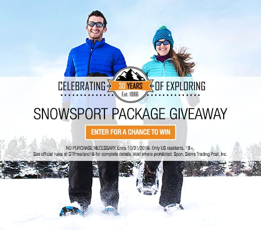 30th Anniversary Giveaway with Snowsport