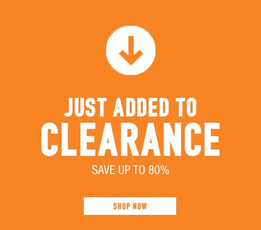 Just Added to Clearance