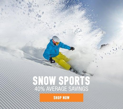 Snow Sports - 40% average savings