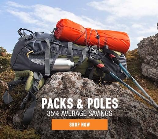Packs & Poles - 35% average savings