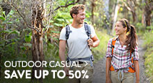 Outdoor Casual - save up to 50%