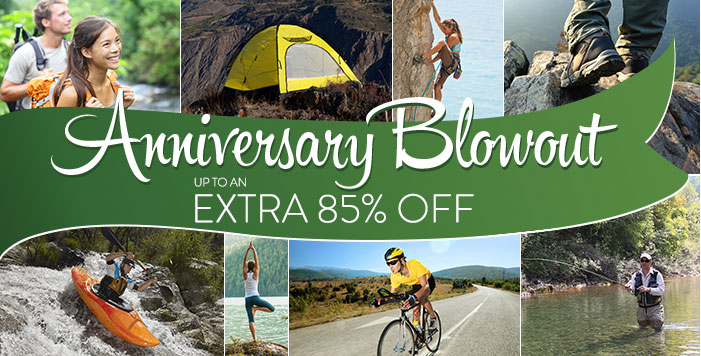 Anniversary Sale - up to an extra 85% Off
