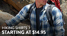 Hiking Shirts - starting at $14.95