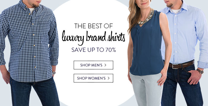 Luxury Shirts - save up to 70%