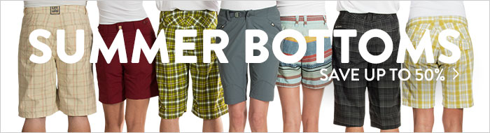 Summer Bottoms - save up to 50%