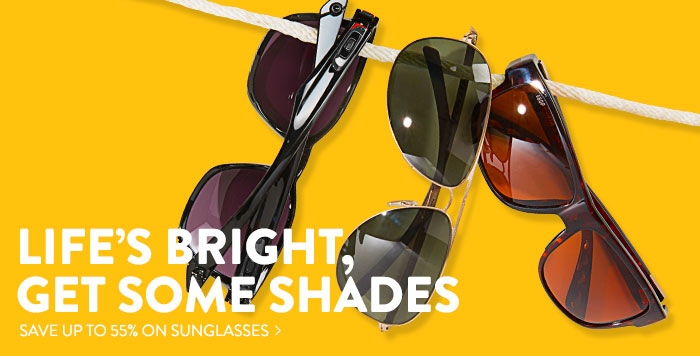 Sunglasses - save up to 55%