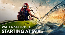 Water Sports - starting at $9.95