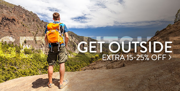 Get Outside Sale - Extra 15-25% off
