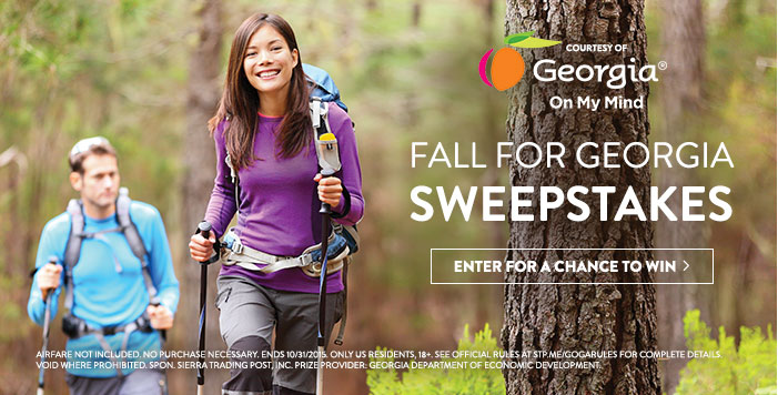 Fall for Georgia Sweepstakes