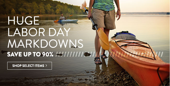 Huge Labor Day Markdowns - save up to 85%
