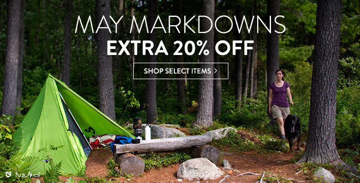 May Markdowns: extra 20% off select items