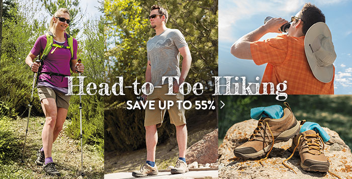 Head-to-Toe Hiking - Save up to 55%
