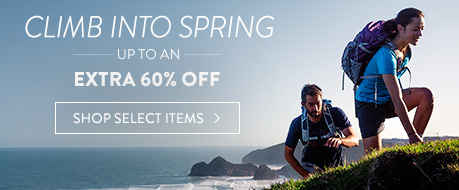 Climb into Spring Clearance - up to an extra 60% Off