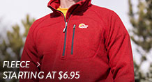 Fleece - starting at $6.95
