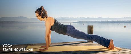 Yoga - starting at $12.95