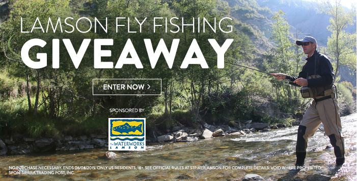 Lamson Fly Fishing Giveaway