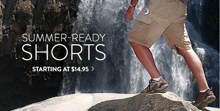 Shorts - starting at $14.95