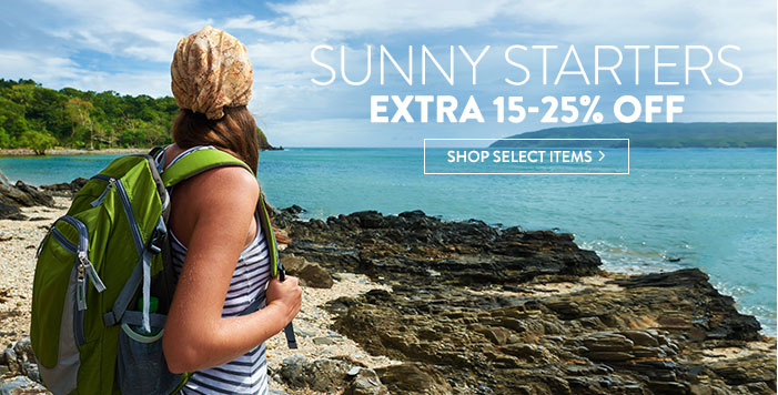 Sunny Starters - extra 15-25% Off