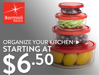 Organize the Kitchen - starting at $6.50
