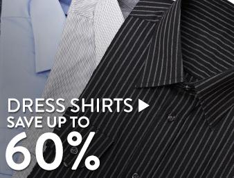 Dress Shirts - save up to 60%