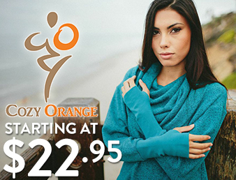 Cozy Orange - starting at $22.95