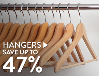 Hangers - save up to 47%