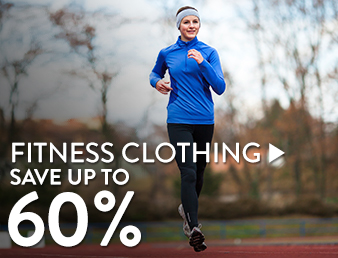 Fitness Clothing - save up to 60%