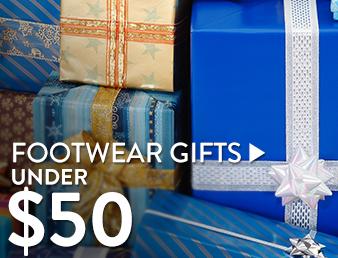 Footwear gifts under $50