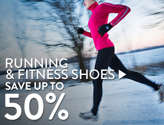 Running & Fitness Shoes - save up to 50%