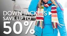 Down Jackets - save up to 50%