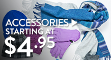 Accessories - starting at $4.95