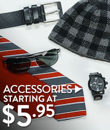 Accessories - starting at $5.95