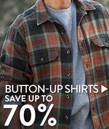 Button-Up shirts - save up to 70%