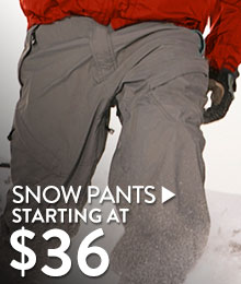Snow Pants - starting at $36