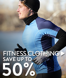 Fitness Clothing - save up to 50%