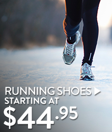 Running Shoes - starting at $44.95