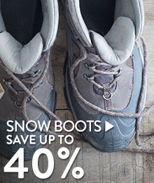 Snow Boots - save up to 40%