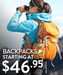 Backpacks – Starting at $46.95