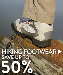 Hiking Footwear - save up to 50%