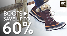 Boots - save up to 60%